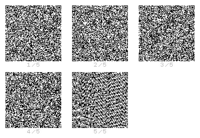 印刷用のQRコードをパス(EPSかPDF)で作成する無 …